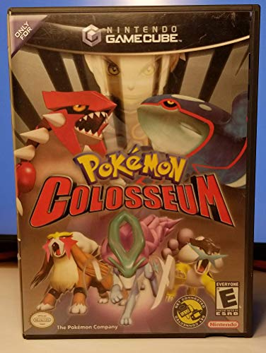 Pokemon Colosseum Video Game for Nintendo GameCube (Renewed) (Games Gamecube Video)