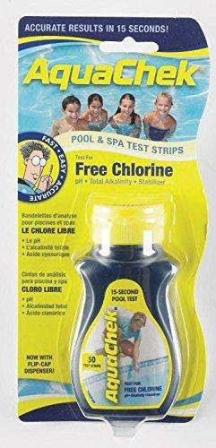Aquachek Yellow Test Strips Aquacheck Swimming Pool Chlorine