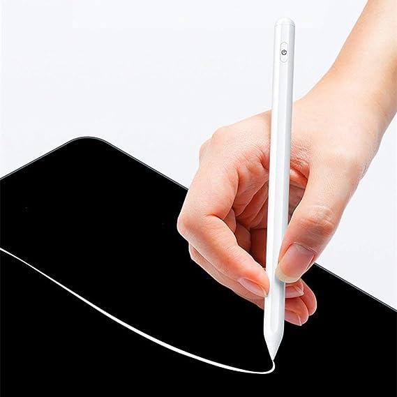 P3 Proの描画ペンiPad Proのアクティブな磁気スタイラスペンProのスタイラスの絵シリコーンペンシル3世代タブレットペン(白)