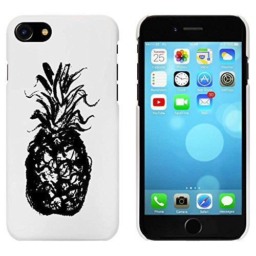 Blanc 'Ananas' étui / housse pour iPhone 7 (MC00067092)