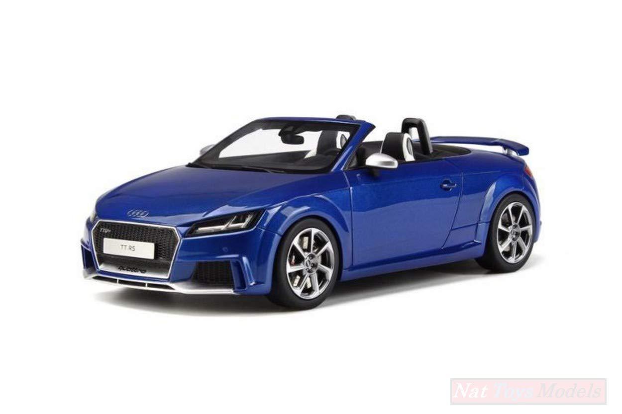 New GT Spirit GT209 Audi TT RS Roadster SEPANG Blue 1:18 MODELLINO Die CAST Model