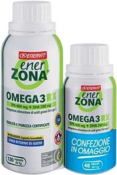 ENERZONA OMEGA 3 RX 120 + 48 OFC: Amazon.de: Drogerie & Körperpflege