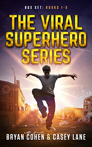 The Viral Superhero Series Box Set: Books 1-3 (Viral Superhero Omnibus)