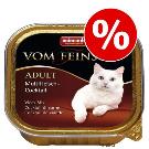Animonda Katzenfutter günstig bei zooplus: 26 + 6 gratis! 32 x 100 g Mixed Animonda vom Feinsten Adult