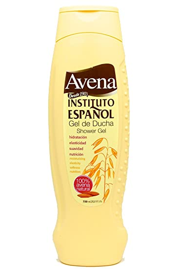 Amazon.com : 3 Bottles of Avena Instituto Espanol Gel de Ducha/Shower Gel 25.5 oz./750ml : Bath And Shower Gels : Beauty