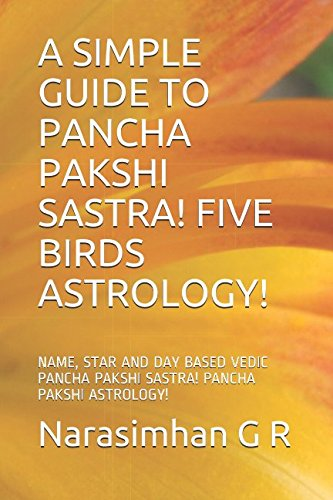 A SIMPLE GUIDE TO PANCHA PAKSHI SASTRA! FIVE BIRDS ASTROLOGY!: NAME