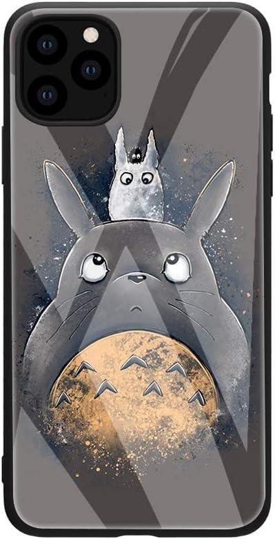Anime Cartoon Totoro My Neighbor Tempered Glass Phone: Amazon.co.uk: Electronics