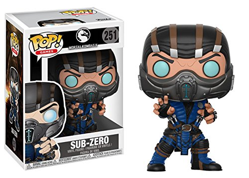 Funko Pop Games: Mortal Kombat-Subzero (Styles May Vary) Collectible Vinyl -