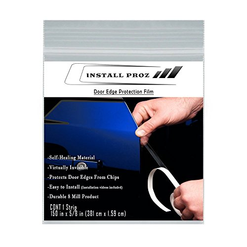 Install Proz Self-Healing Clear Paint Protection Film Kits (Door Edge Protection Film 150