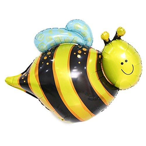 (OveeLando Cute Bee Foil Balloon 27.5 x 19.5)