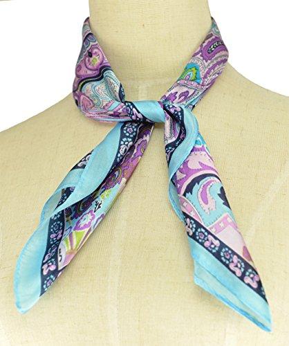 Fête des Mères Petit motif foulard Carré version coréenne Imprimée des totémique soie