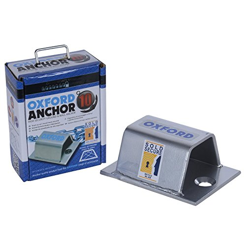 Oxford Anchor 10 - High Security Ground & Wall Anchor for Bike Locks