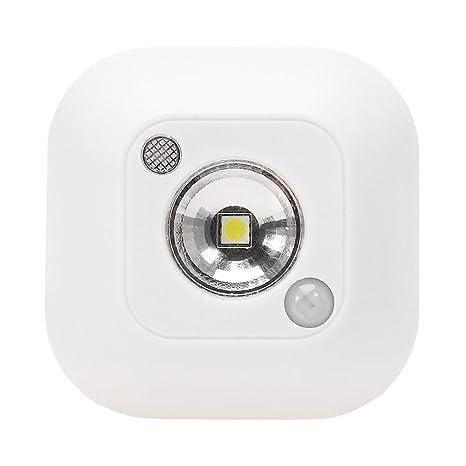 GGG infrarrojos IR inalámbrico automático Detector de movimiento del cuerpo Detector LED Night Light Closet noche