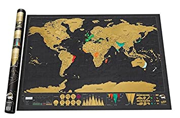 Unistore 825cm 594cm scratch off world map perfect tool for unistore 825cm 594cm scratch off world map perfect tool for travelers gumiabroncs Image collections
