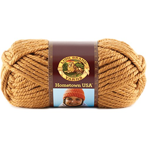 Lion Brand Yarn 135-170 Hometown USA Yarn, Las Vegas Gold (Rug Stores In Las Vegas)