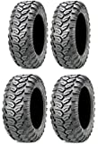 Full set of Maxxis Ceros Radial 23x8-12 and 23x10-12 ATV Tires (4)