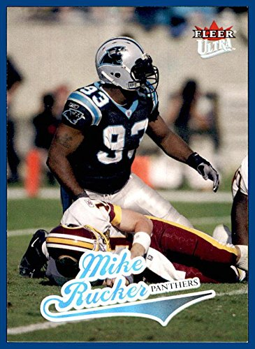 (2004 Ultra #93 Mike Rucker CAROLINA PANTHERS NEBRASKA CORNHUSKERS)
