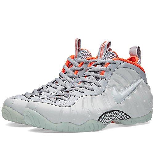 huge discount 25665 6d7fc Nike Men's Air Foamposite Pro PRM, Pure Platinum / Pure Platinum - Wolf  Grey - Bright, 11.5 M US
