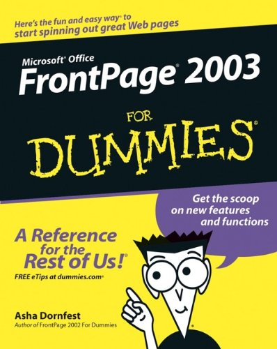 Front Page 2003 For Dummies
