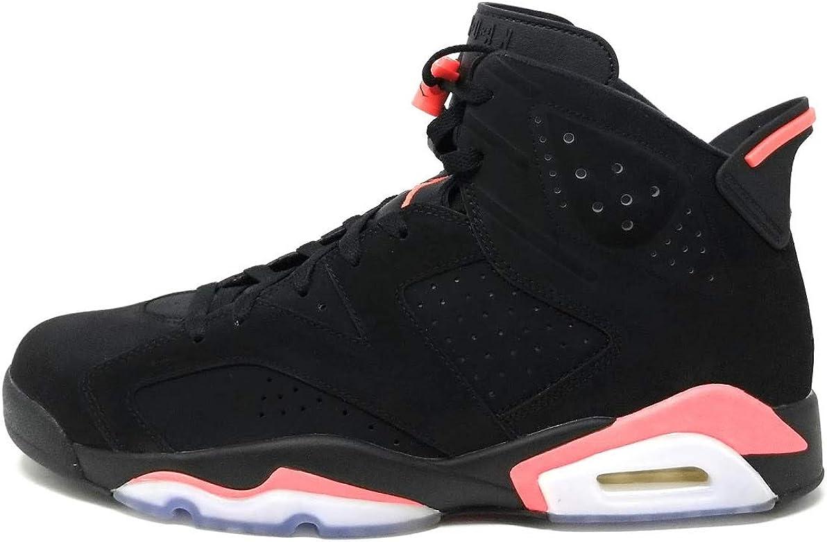 Flojamente cera Guardia  Amazon.com | Nike Mens Air Jordan 6 Retro Infrared Suede Basketball Shoes |  Shoes