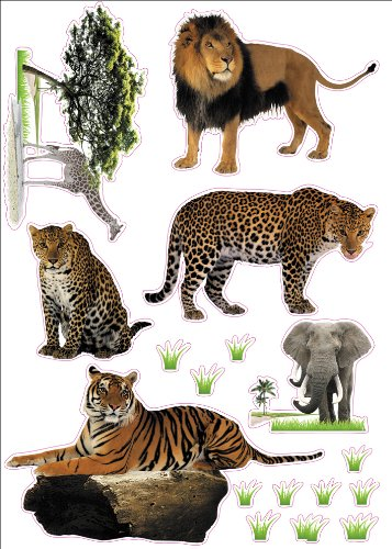 Wild Animals Artwork Room Decor Wall Sticker Decal **15