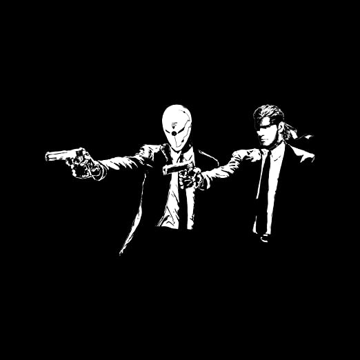Metal Gear Solid Snake Cyborg Ninja Banksy Pulp Fiction ...