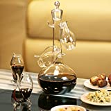Port Sipper Set with Four Sippers   bar@drinkstuff Port Glasses, Port Sipper Set, Port Sippers, Port Decanter, Liqueur Decanter   Handmade Glass Port Decanter