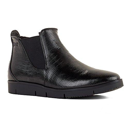 Zapatos De Puma Para Mujer Sass Botas Black Snake Patent