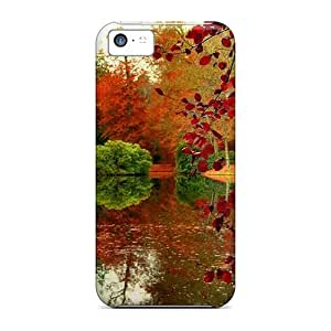 Awesome Paradise View Flip Case With Fashion Design For Iphone 5c