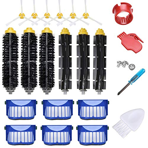 Drita Replacement Accessories Kit for iRobot Roomba 600 Series 610 614 620  630 635 645 650 655 660 665 671 680 690 695 Series Vacuum Cleaner