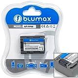 Blumax ® Sony NP-FP50 Battery for DCR-DVD403E, DCR-DVD404E, DCR-DVD605E, HDR-HC3E, DCR-SR70E, DCR-SR80E, DCR-SR90E, DCR-HC85E, DCR-HC94E, DCR-HC96E, DCR-DVD803E, DCR-DVD805E, DCR-DVD905E, DCR-DVD92E