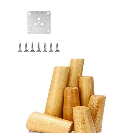 Patas de los muebles de madera Sofá Pies accesorios de mesa de ...