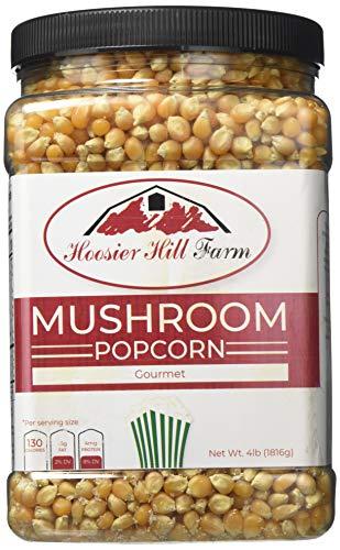 Hoosier Hill Farm Gourmet Mushroom Popcorn Lovers Jar Non-GMO, 4 lb