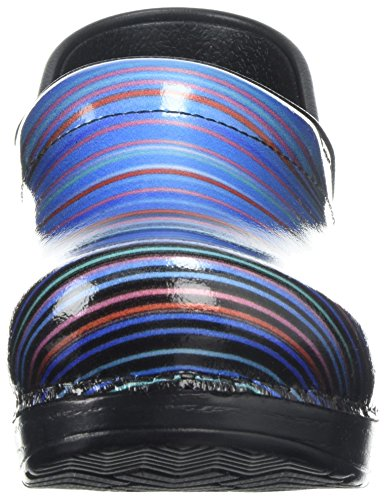 Dansko Professional Clog Faded Stripe Patent