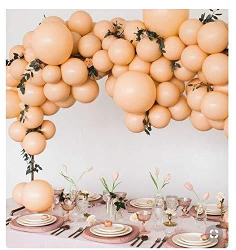 PartyWoo Peach Balloons 50 pcs 10