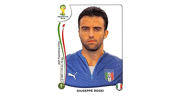 Panini Prizm World Cup 2014 Brazil Italy Base # 131 Giuseppe Rossi