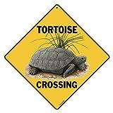 CROSSWALKS Tortoise Crossing 12' X 12' Aluminum Sign