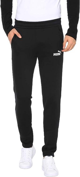 Esquiar influenza ambiente  Pantalon Puma Slim Negro Hombre: Amazon.es: Ropa y accesorios