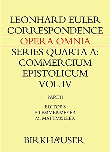 Correspondence of Leonhard Euler with Christian Goldbach: Volume 2 (Leonhard Euler, Opera Omnia)