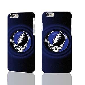 Grateful Dead American Rock Band 3D Rough Iphone 5C Case Skin, fashion design image custom Iphone 5C - 5.5 inches , durable Iphone 5C hard 3D Iphone 5C , Case New Design By Codystore WANGJING JINDA