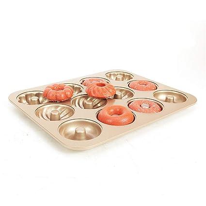 Molde De La Torta 12 Vidrio, Acero Al Carbono, Antiadherente, Tipo De Flor