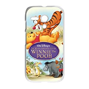 Motorola G Cell Phone Case Covers White Many Adventures of Winnie the Pooh T4516706