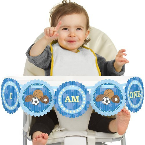 All Star Sports 1st Birthday - I Am One - First Birthday...