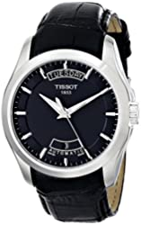 Tissot Mens Couturier Black Dial Watch T035.407.16.051.00
