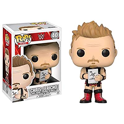 Funko Pop WWE-Jericho Old School: Funko Pop! Wwe:: Toys & Games