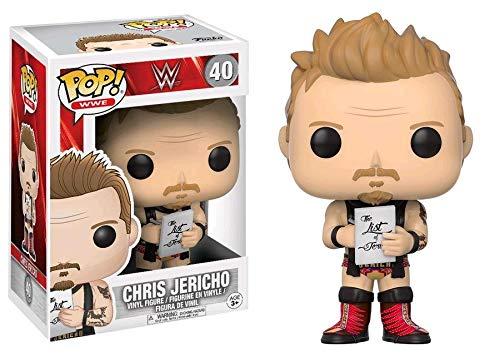 Funko - Figurine WWE - Chris Jericho Pop 10cm - 0889698142533