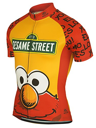 Elmo Loves You Muppets Sesame Street Cycling Jersey by Br...