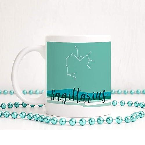 Sagittarius Mug Constellation Coffee Gift For Her