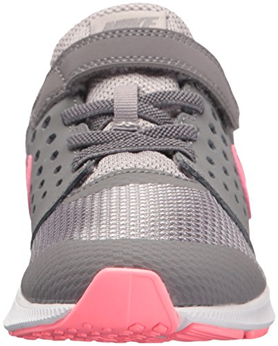 Nike Girls' Downshifter 7 (PSV) Running Shoe Gunsmoke/Sunset Pulse - Atmosphere Grey 11 M US Little Kid by Nike (Image #4)