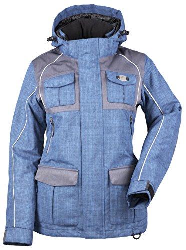Divas SnowGear Women's Arctic Appeal Jacket (Ocean Blue/C...